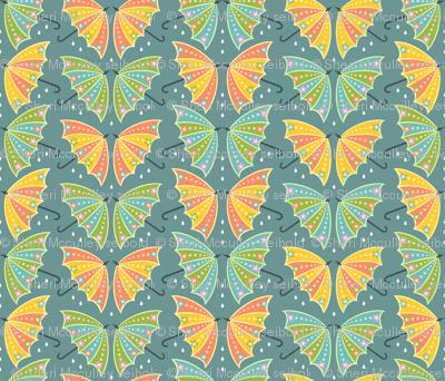 Umbrella Butterflies: Blue-Gray