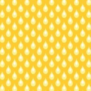 Raindrops: Yellow