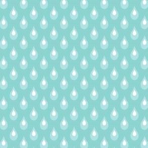 Raindrops: Sky Blue
