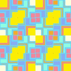 Springtime Mondrianesque