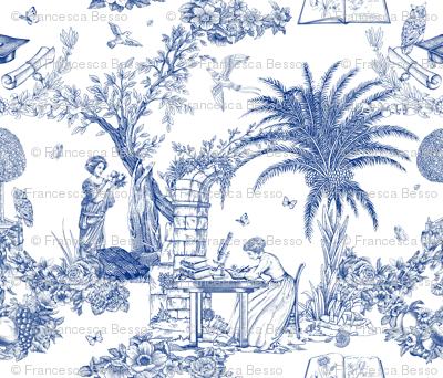 Eva Mameli Calvino - Botanist-blue