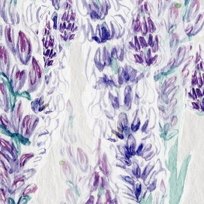 Watercolor Lavender