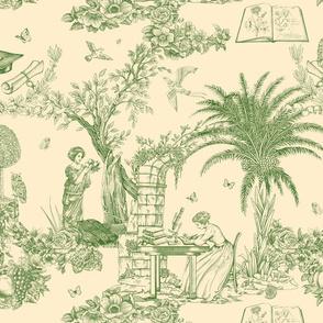 Eva Mameli Calvino - Botanist-old green