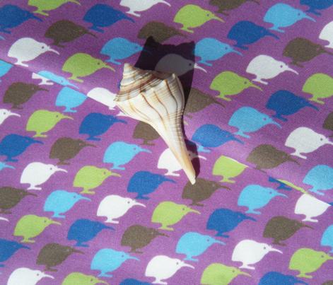 Kiwi Bird - Purple