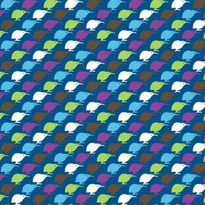 Kiwi Bird - Navy