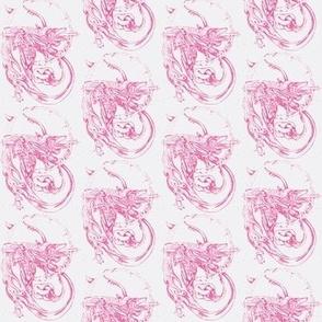 Prettyugly Brooch in pink