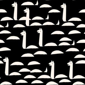 Nessie - Black/Champagne