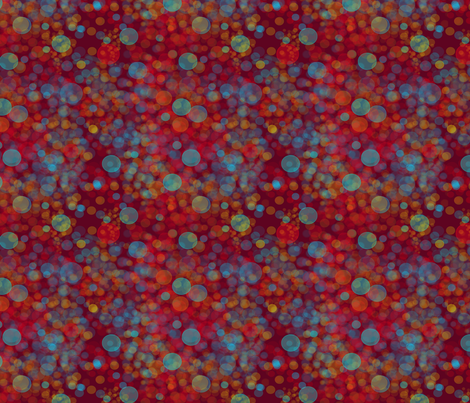 Light reflections in red fabric by redbicycle on Spoonflower - custom fabric