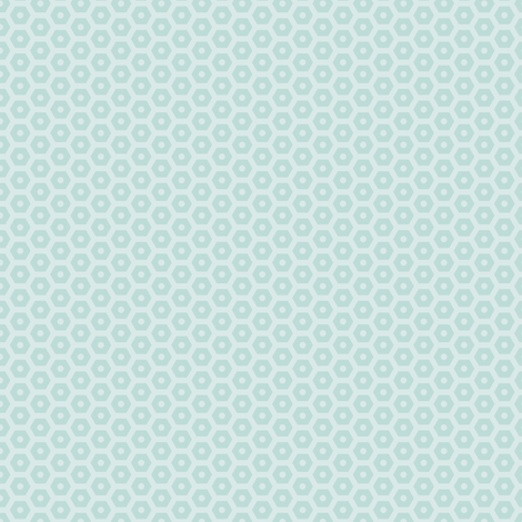 Tinker Hex Nuts: Blue fabric by sheri_mcculley on Spoonflower - custom fabric
