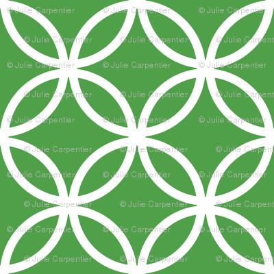 CercLattice White on green - 4