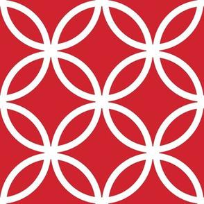CercLattice White on red - 4