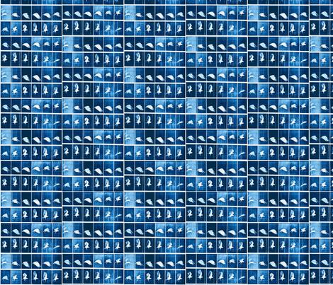 Muybridge Flap (indigo) fabric by dscougar on Spoonflower - custom fabric