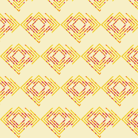 quill. sunny. fabric by emilycier on Spoonflower - custom fabric