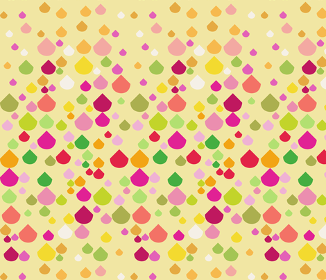 drizzle. sunny. fabric by emilycier on Spoonflower - custom fabric