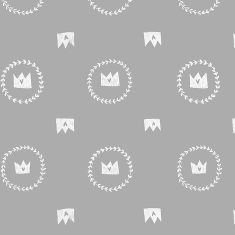The Good King fabric by arianarmstrong on Spoonflower - custom fabric