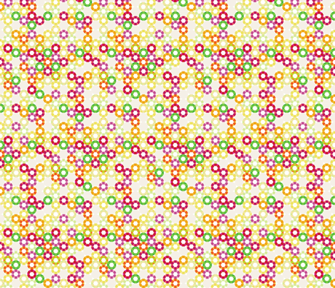 cog. sunny. fabric by emilycier on Spoonflower - custom fabric