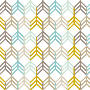 Mint Gold Arrows