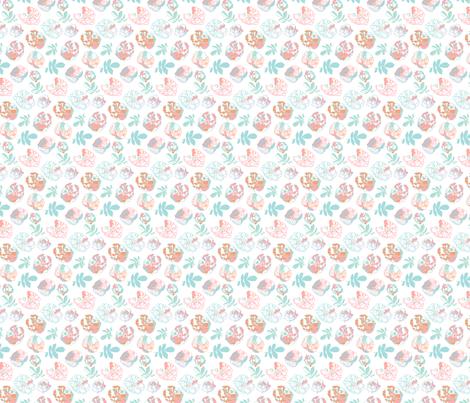 Rugosa Flower fabric by allieh on Spoonflower - custom fabric
