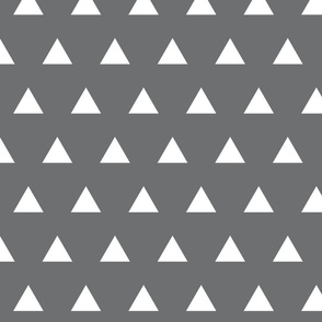 charcoal triangles