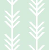 mint arrow stripes