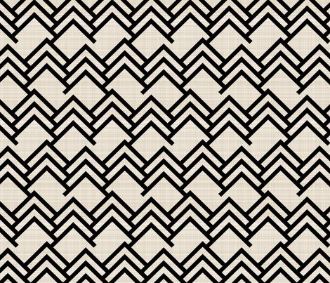 Black Woods fabric by mrshervi on Spoonflower - custom fabric