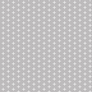 gray skinny plus // small