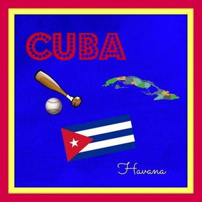 Cuba quilt block / swatch