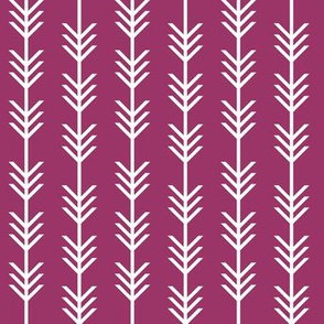 orchid arrow stripes