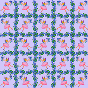 Blueberry Fairy on Periwinkel