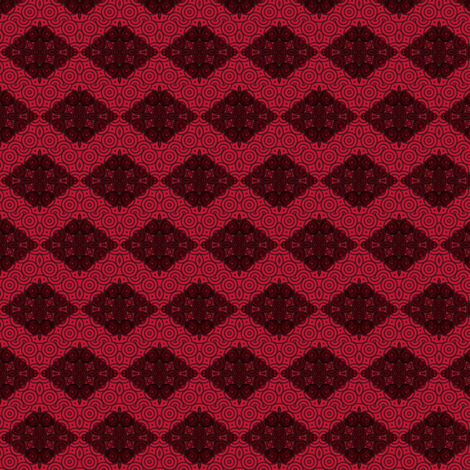 Red and Black Chevron-y fabric by clotilda_warhammer on Spoonflower - custom fabric