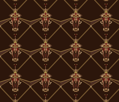 acorn fabric by mcclept on Spoonflower - custom fabric