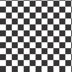 Black & White Check (medium)