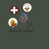 Scouts honor green