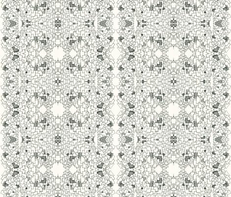trompe l'oeil gray fabric by arrpdesign on Spoonflower - custom fabric