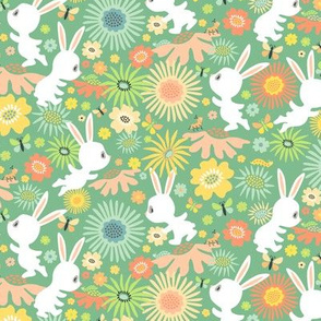 Meadow Bunnies: Marshmallow Mint