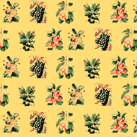 Harvest Fruit fabric by amyvail on Spoonflower - custom fabric