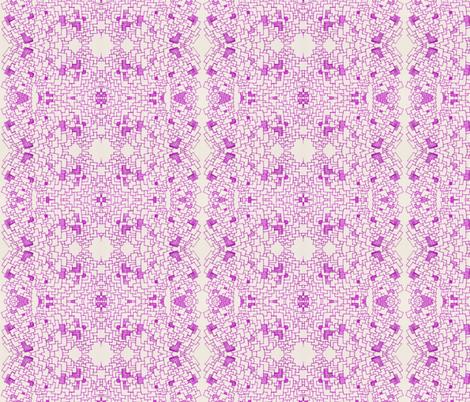 trompe l'oeil magenta fabric by arrpdesign on Spoonflower - custom fabric