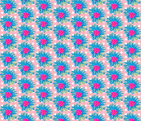 Flowers for Claire fabric by taramcgowan on Spoonflower - custom fabric