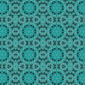 Aqua Kaleidoscope