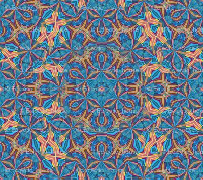 Kaleidoscope Star Ribbon