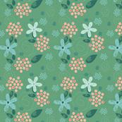 Dotty Field Flowers