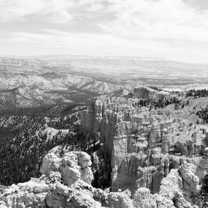 National Parks: Bryce in Black and White