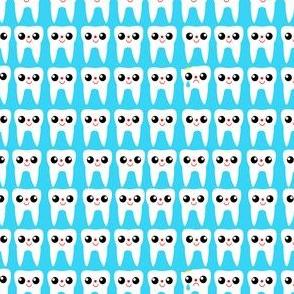All Teeth Blue