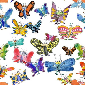 Funny Butterflies