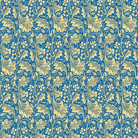 Crane Dance Sea fabric by amyvail on Spoonflower - custom fabric
