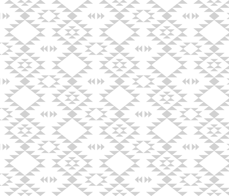 Navajo - Gray fabric by kimsa on Spoonflower - custom fabric