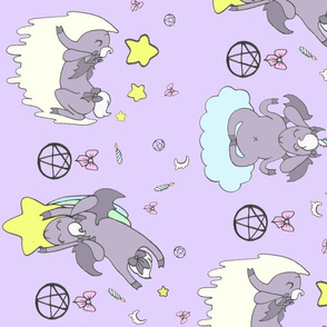 Dreaming Demons - Border (Lavender)