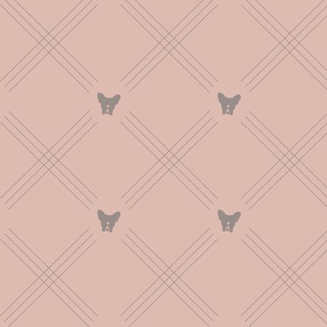 Pardon My Frenchie fabric by fido+fitz on Spoonflower - custom fabric