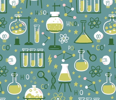 Mad Science Fair fabric by alyssa_nassner on Spoonflower - custom fabric