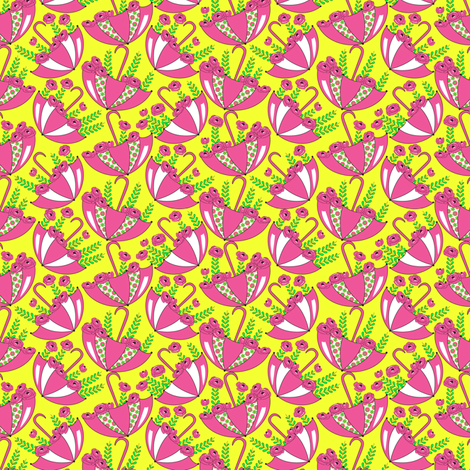 Coming Up Roses fabric by mag-o on Spoonflower - custom fabric